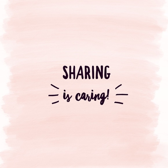 Other - Sharing is Caring!